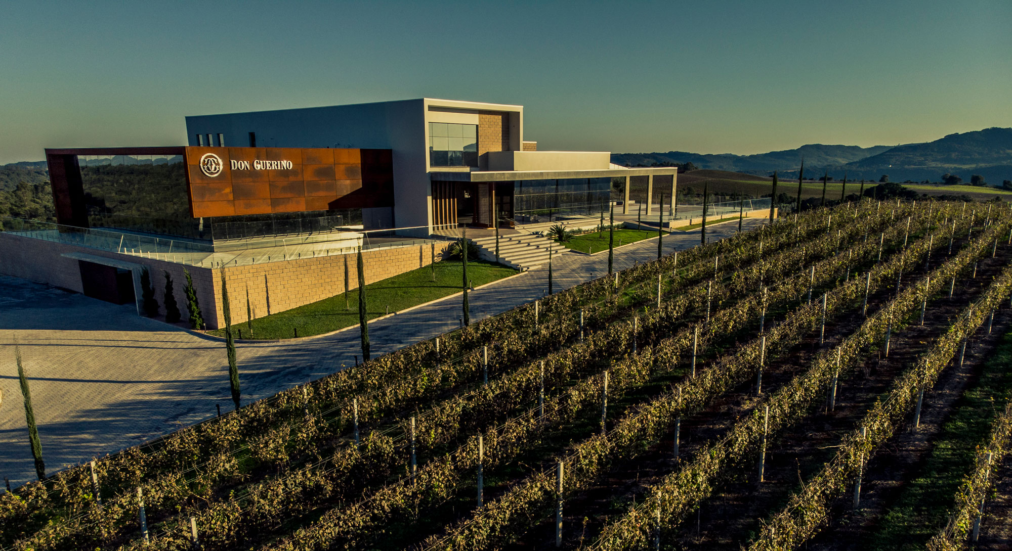 Don Guerino: a modern winery with cutting edge technologies